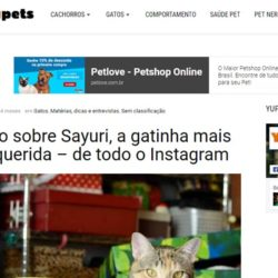 Yupets: Entrevista com a Sayuri