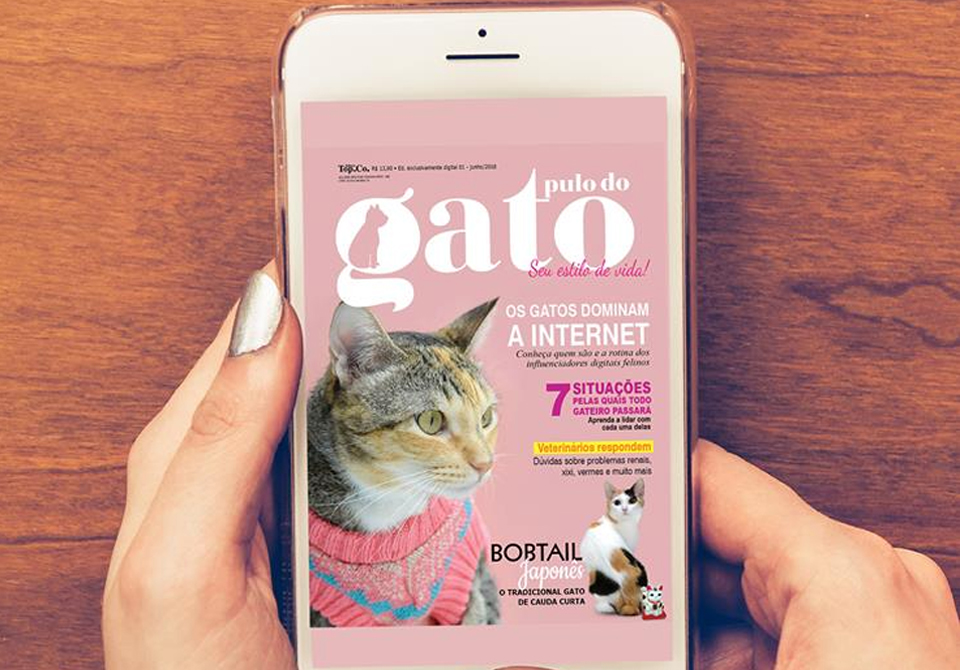 Revista Pulo do Gato: Os Gatos Dominam a Internet